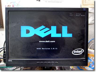 DELLの画面