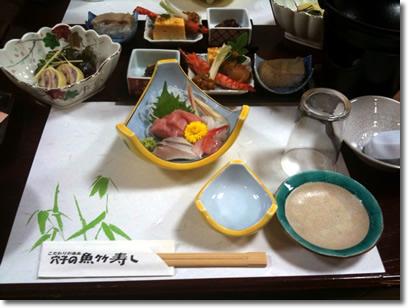 魚竹寿司で忘年会