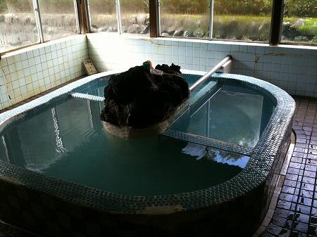 平山温泉 浴槽